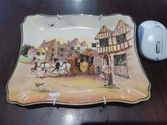 Royal Doulton Plate with Hanger