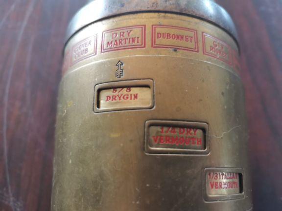 Vintage Cocktail Mixer Shaker